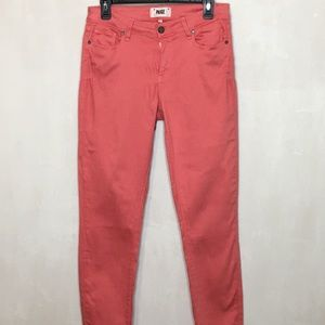 Paige Coral Verdugo Ultra Skinny Jeans Size 31